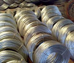 Galvanized Stay Wire
